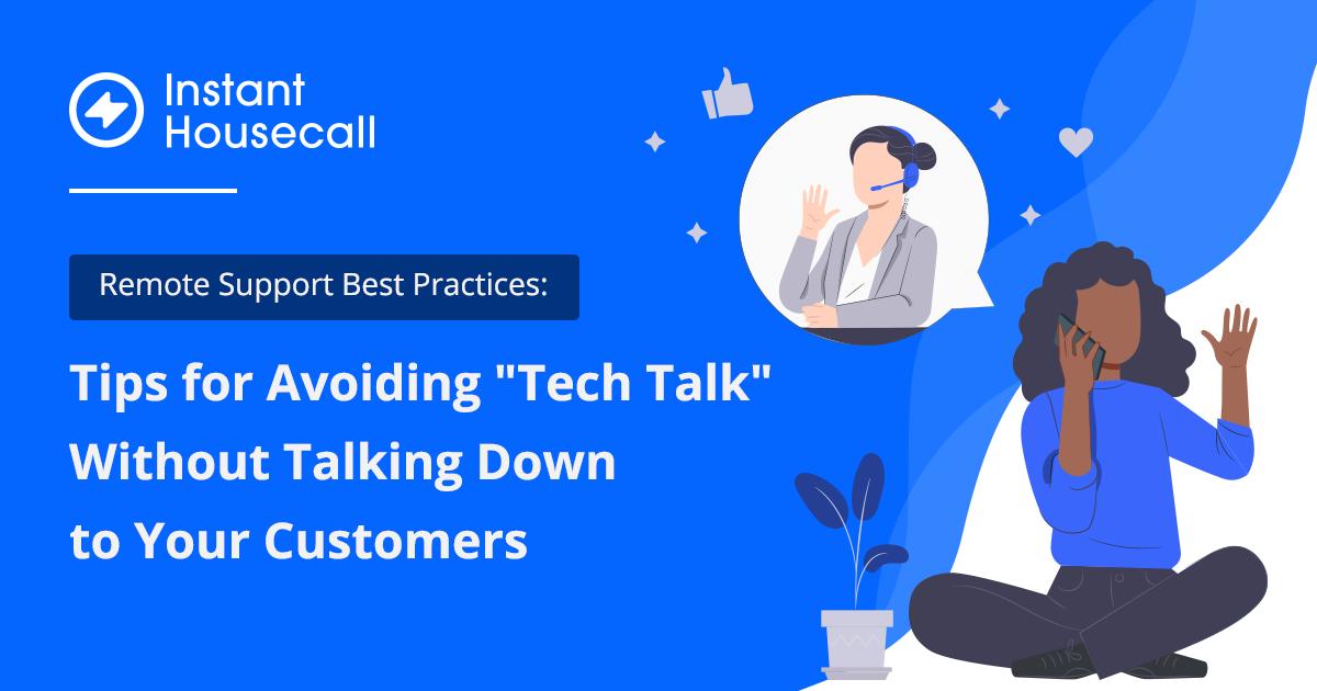 how to avoid tech talk